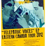 telepathic voices 2012 poster